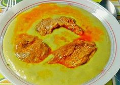 Vegyes borsókrém főzelék | Törzsök Éva receptje - Cookpad receptek Evo, Hummus, Thai Red Curry, Ethnic Recipes