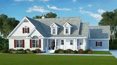 Home Plan HOMEPW76930 - 2137 Square Foot, 3 Bedroom 2 Bathroom + Low Country Home with 2 Garage Bays | Homeplans.com