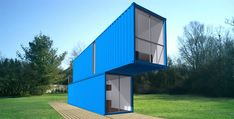 Recycled freight containers bring efficiency, flexibility and affordability to innovative green buildings, from small vacation cabins to movable cafes, schools and skyscrapers.