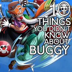 10 Facts you probably didin't know about Buggy the sexy Clown ( swipe to read them). I hope you like it! Don't forget to double tap. . . . To Do List: --> Like my last post --> Follow @pirates.queen for more --> Share with friends --> Give credits if you repost --> Turn on post notifications . #anime #ace #zoro #tokyoghoul #ichigo #onepiece #otaku #sasuke #shanks #sanji #sao #snk #dbz #fairytail #fangirl #goku #gray #juvia #kaneki #luffy #lucy #monkeydluffy #cosplay #vegeta #blackbutler…
