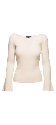 Central Park West Salzburg Pullover Sweater in Winter White / Manage Products / Catalog / Magento Admin