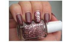 """Essie """"A Cut Above"""" layered over Angora Cardi. Not my hands but I'm wearing this right now. It's BEAUTIFUL."""