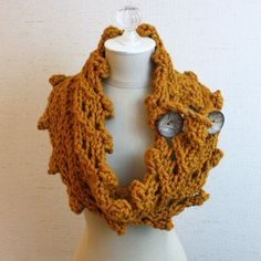 Rustico Cowl / Wrap Knitting Pattern (not free though)