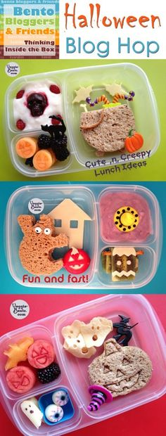 ADORABLE! Halloween Lunch Ideas