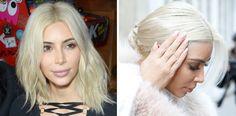 Kim Kardashians Haare sind jetzt Weiß! Und dieser Star steckt dahinter...