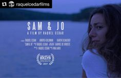 #Repost @raquelcedarfilms (@get_repost)  SAM & JO will be premiering TOMORROW  JUNE 8th @ 7pm at St. Francis College Founders Hall Theater as a part of the @theartofbklyn film festival!  Will we see you there?  Tickets available at http://ift.tt/2rsmBbx #aobff17Original photos posted by The Art of Bklyn Film Festival aobff.org