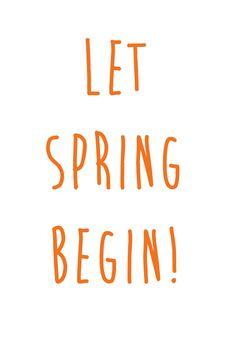 let's spring :)