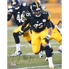 6d073f322cf Jarvis Jones Pittsburgh Steelers Fanatics Authentic Autographed 16