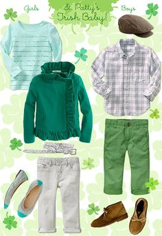 51c458a31 Love the green pants for Patrick. Happy St. Patrick s Day! St Patrick s Day
