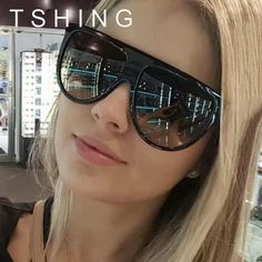 TSHING 2017 New Fashion Flat Top Goggle Sunglasses Women Vintage Brand Designer Sun Glasses For Ladies Female Eyewear UV400  #men #me #kids #women #love #newarrivals #groom #graduation #gift #sale #photooftheday #accessories #belts #sexyshoes #wallets