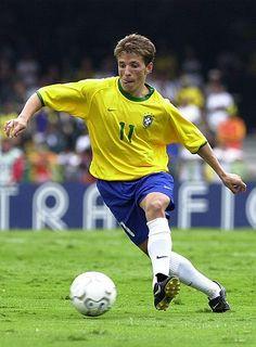 """Juninho Paulista"" Osvaldo Giroldo Júnior (Brazil, 1995–2003, 50 caps, 5 goals)"