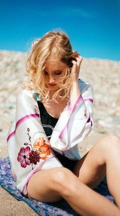 Silk Bolero Scarf – Love Me Back - Inspired By Elle