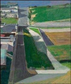 """Richard Diebenkorn's """"Cityscape I"""" (formerly Landscape I). See it on the 5th floor of the SFMOMA!"""