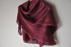 Line Break pattern of Veera Välimäki. love the shawl and the color!
