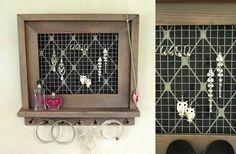 Schmuckaufbewahrung - Schmuckständer - ein Designerstück von kerfra bei DaWanda