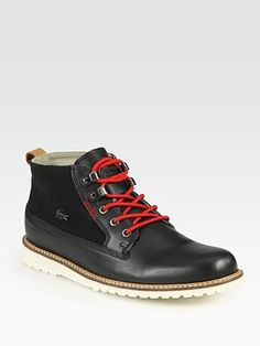 Lacoste Delevan Lace-Up Boots