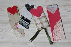 Heart Bookmark DIY {A Week Filled With Love} | kathastrophal