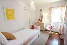 Modern Girls Bedroom within White Color Scheme Minimal Bedroom, Modern Bedroom, White Bedroom, Girls Bedroom, Color Schemes, Minimalism, Toddler Bed, Couch, Ursula