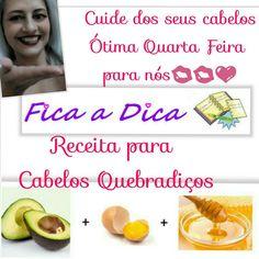 #cuidedeseuscabelos😘👱 mais receitinhas www.ebellasaudeebeleza.com