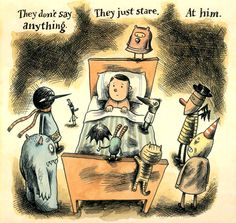 Creepy books for kids: What There Is Before There is Anything There by Liniers