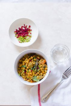 Pearl CousCous & Chickpeas Vegetable Recipes