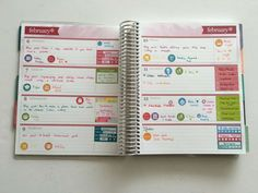 erin condren horizontal life planner honest review weekly planner lined checklist planning with stickers minimalist planning http://www.allaboutthehouseprintablesblog.com/planning-using-the-horizontal-erin-condren-life-planner-52-planners-in-52-weeks-week-6/