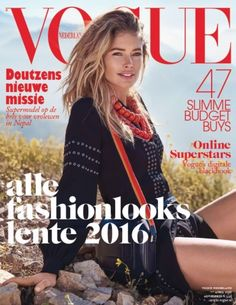 Doutzen Kroes covers Vogue Netherlands April 2016, talks about her new mission in Nepal  [cover]