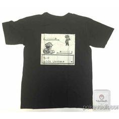 Pokemon Center 2016 20th Anniversary Game Dot Campaign Tshirt  Version #8 (Free Size)