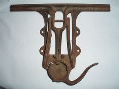 Wentworth's saw sharpening vice Antique 1879 iron