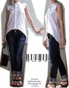 Идея переделки рубашки / Блузки / ВТОРАЯ УЛИЦА