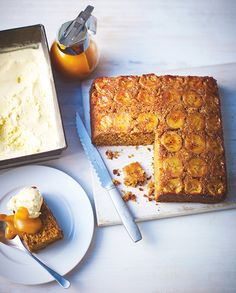 Dulce and banana cake from Lorraine Pascale