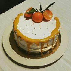 Naked cake  - mandarina