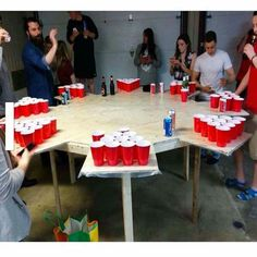 Because I have a normal beer pong, that's why! - # beer pong # that's why . Fun Party Games, Adult Party Games, Adult Games, Ideas Party, Party Games For Adults, Adult Party Ideas, College Party Games, Bbq Games, Diy Party