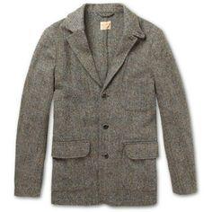 NN.07 Selkirk Slim-Fit Harris Tweed Coat