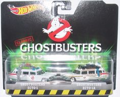 2016 Hot Wheels Entertainment Classic Ghostbusters & Ecto 2 Pack Scale retro Diecast 2 Pack gren Slime on ecto Matchbox Car Storage, Matchbox Cars, Weird Cars, Cool Cars, Crazy Cars, Carros Hot Wheels, Disney Cars Toys, Hot Wheels Display, Miniature Cars