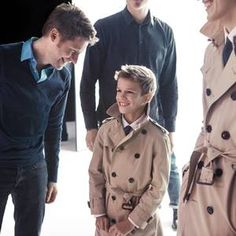 """Two years ago Romeo Beckham """"stole the show"""" in Burberry's spring/summer 2013 ad campaign, and now the whippersnapper has scored another gig for the British heritage label."""