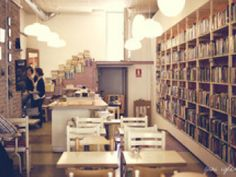 Bars and cafeterias to study and read in Barcelona