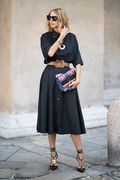 Candela Novembre seen during Milan Fashion Week Spring/Summer 2017 on September 24 2016 in Milan Italy