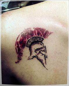"""Képtalálat a következőre: """"spártai sisak tattoo"""""""