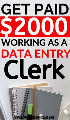 Data entry jobs from home can actually earn you extra money. You just need to know where to find them. Get these list of the best data entry jobs and start working from home today! #dataentryjobs #careersfromhome #sidejobstomakemoney #earnmoneyfromhome #onlinejobsfromhome #easyonlinejobs Work From Home Careers, Legit Work From Home, Work From Home Opportunities, Work From Home Tips, Busy At Work, Business Opportunities, Business Ideas, Easy Online Jobs, Online Jobs From Home