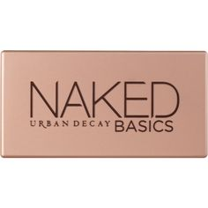 Urban Decay Eyeshadow Palette, Naked Basics (€31) ❤ liked on Polyvore featuring beauty products, makeup, eye makeup, eyeshadow, beauty, fillers, palette eyeshadow, matte eye shadow, matte eyeshadow e urban decay eye shadow