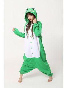 Frog kigurumi http://www.ikigu.com/frog-kigurumi-costume.html