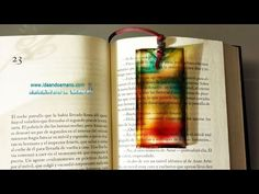 Separador de libros de colores - YouTube