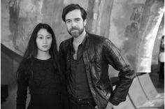 Sarah Linh Tran et Christophe Lemaire http://www.vogue.fr/mode/inspirations/diaporama/fwah2015-les-10-images-du-jour-de-la-fashion-week-automne-hiver-2015-2016-paris/19463