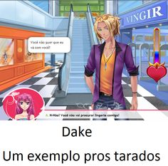 Dake, finalmente virou exemplo!...para tarados hjsnxjjx