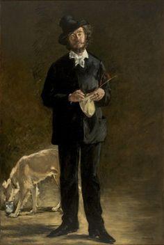 Tipo de obra: Pintura Categoria: Arte Francesa Autor: Edouard Manet Dados Biográficos: Paris, França, 1832 - 1883 Título: O Artista - Retrato de Marcellin Desboutin Data da obra: 1875