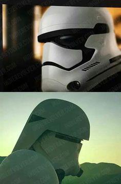 Episode 7 stormtrooper and snowtrooper