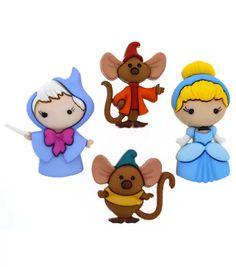 Jesse James Dress It Up Disney Button Embellishments Cinderella   JOANN