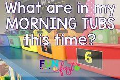 Morning Tubs – Round 2   Fun in First   Bloglovin'