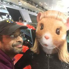 """With the Kia Hamster Babe. NY International Car Show #tbt #newyorkinternationalautoshow #newyorkinternationalcarshow #kiahamster #kia #hamster"" Photo taken by @drebel66 on Instagram, pinned via the InstaPin iOS App! http://www.instapinapp.com (04/16/2015)"
